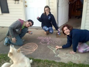 spring break 2015 chalk
