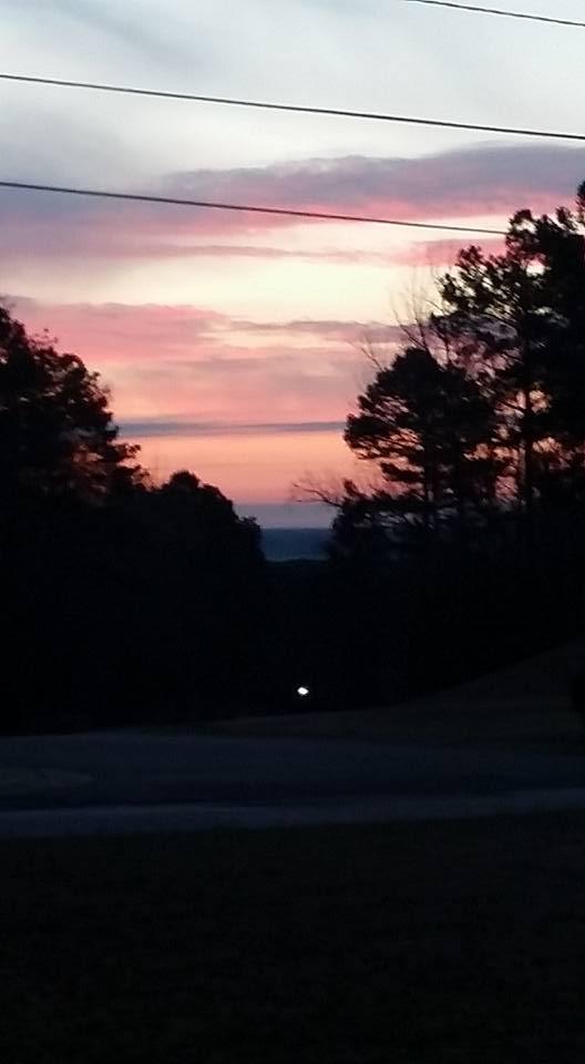 Sunrise of Justin's leaving